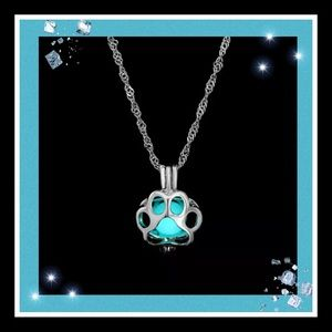 Jewelry - Dog or cat lover luminous necklace